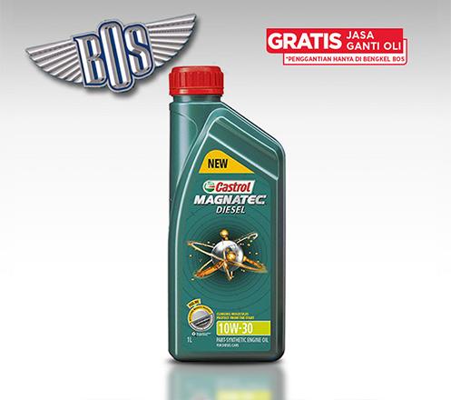 Oli Mobil Magnatec Diesel 10W-30 + Gratis Jasa Ganti Oli & Check-up