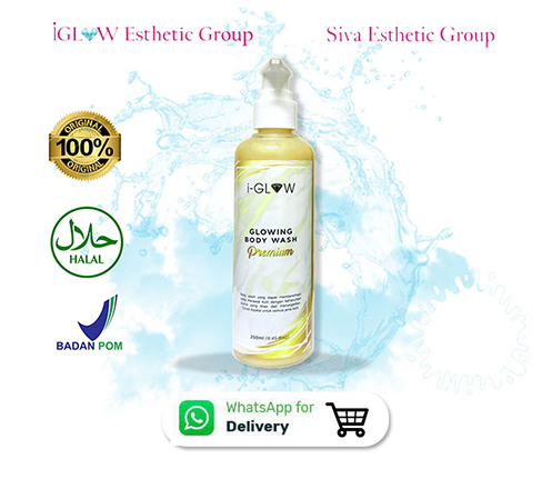iGLOW Glowing Body Wash