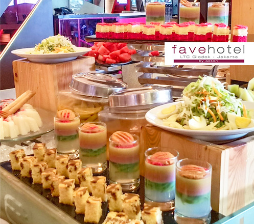 All You Can Eat Lunch at Favehotel LTC Glodok