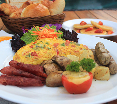 All You Can Eat Breakfast Buffet at Breeze Café