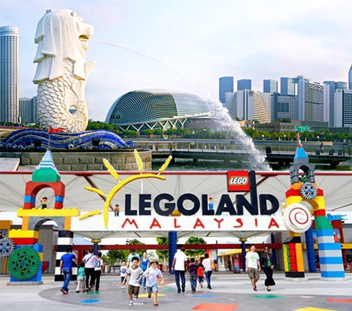 New Years Tour Singapore Include Universal Studio & Legoland 4D3N