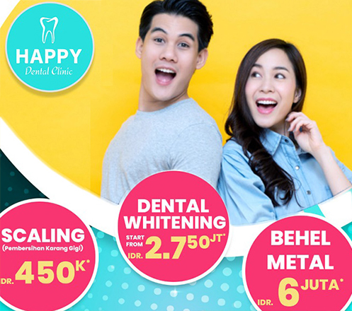 Happy Dental Clinic-Green Pramuka Square
