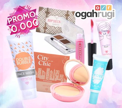 Paket Make Up Lengkap dari Emina Hanya Rp 10.000