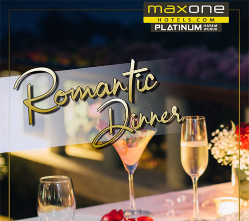 Romantic Dinner at Skymax Rooftop - Maxone Platinum Hayam Wuruk