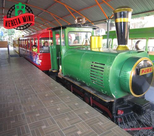 Tiket Masuk Kereta Api Mini TMII
