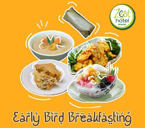 Early Bird Breakfasting Ramadhan 1441H at Zest Hotel Bogor