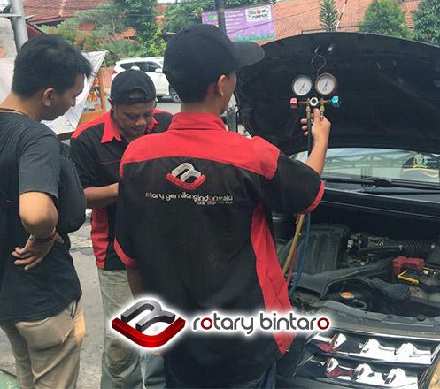 Fogging + Ozon + Check AC dari Rotary Bintaro