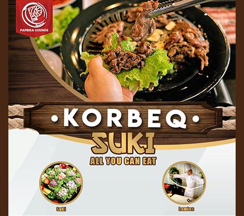 Korean BBQ, Suki, Lamian AYCE at Paprika Lounge