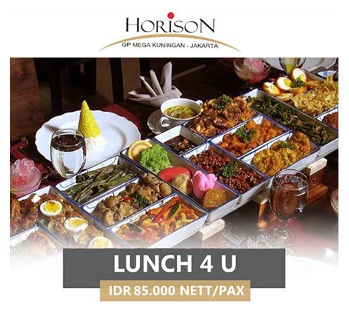 AYCE Lunch & Dinner Buffet at Teratai Restaurant, Horison GP Mega Kuningan2