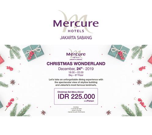 Christmas Dinner Package-Mercure Jakarta Sabang