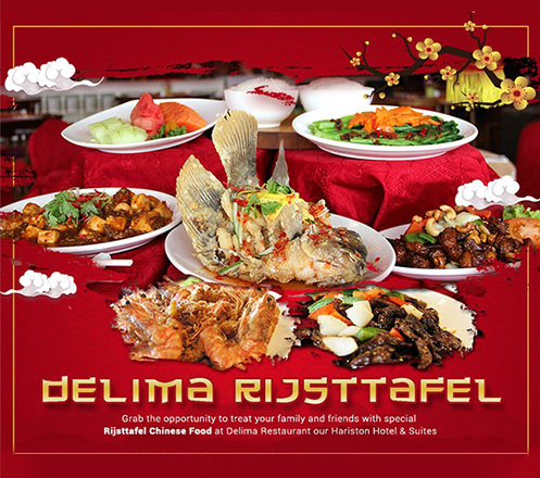 Special Set Menu Package Chinese Food for 4 Persons