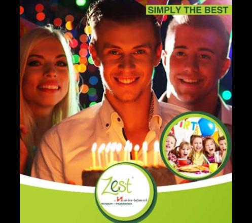 Celebrate Your Birthday at Zest Hotel Bogor