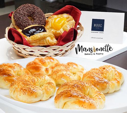 Mansionette Bakery at Marc Hotel Passer Baroe