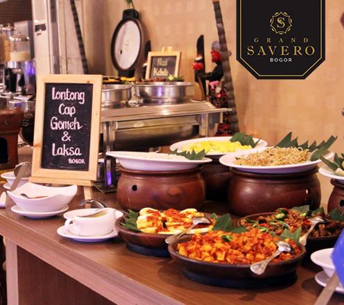 Happy Hour Breakfast at Lotus Restaurant-Grand Savero Bogor