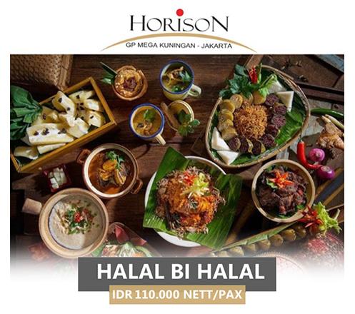 Halalbihalal Buffet at Teratai Restaurant, Horison GP Mega Kuningan
