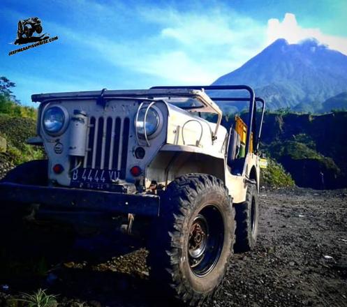 Jeep Merapi Sunrise