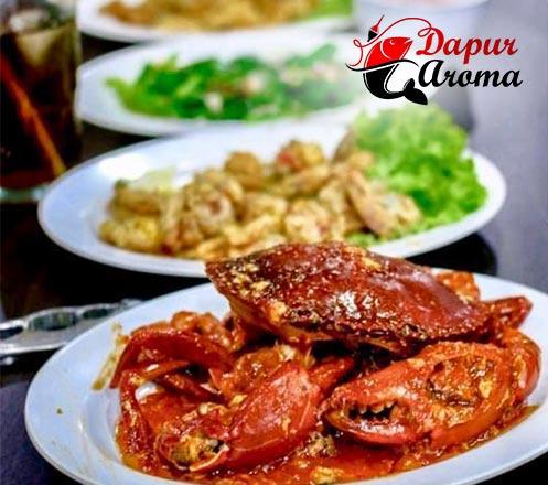 Paket Hemat Makan Seafood Ber-4 di Dapur Aroma Seafood