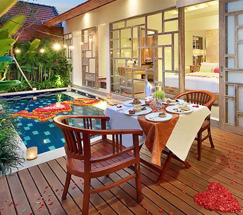 Honeymoon Destiny Premiere Package 3D2N at Canggu Bali