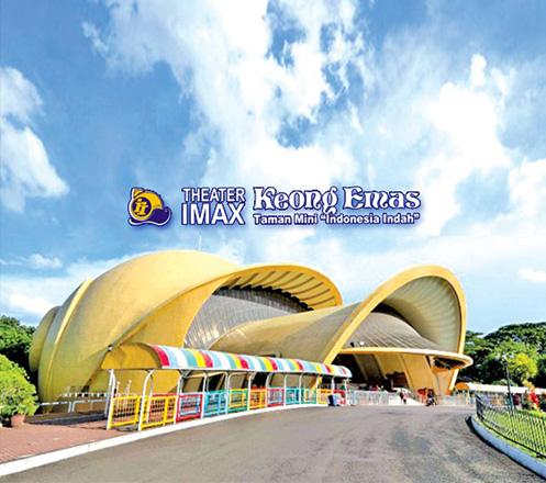 Tiket Theater IMAX Keong Emas TMII 01