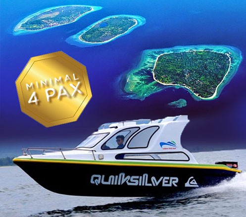 Private Speed Boat plus Car Rental Min. Buy 4 pax 03