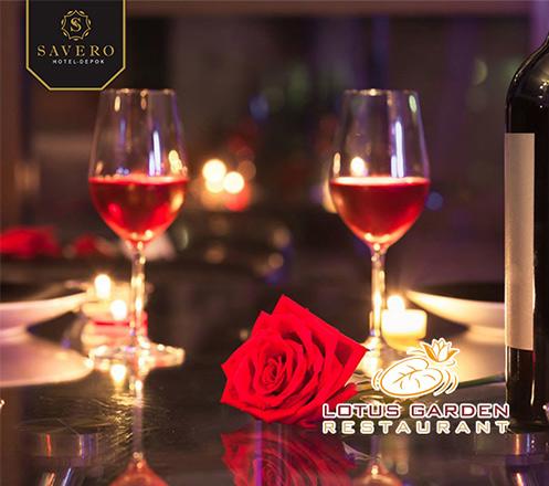 Romantic Dinner for Couple at Lotus Garden Restaurant