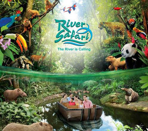 River Safari + Boat Singapore