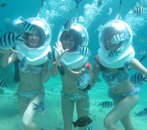 Sea Walker at Bali