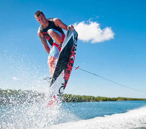Wake Board at Bali