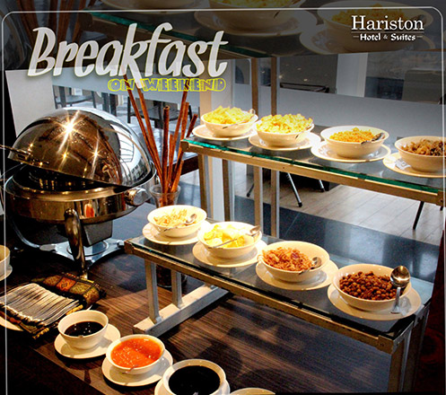Special -All You Can Eat- Breakfast on Weekend for 2 Person