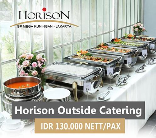 Special Outside Catering From Teratai Restaurant, Horison GP Mega Kuningan