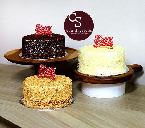 Country Style Grandma Cake