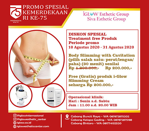 iGLOW Body Slimming with Cavitation by Siva Esthetic