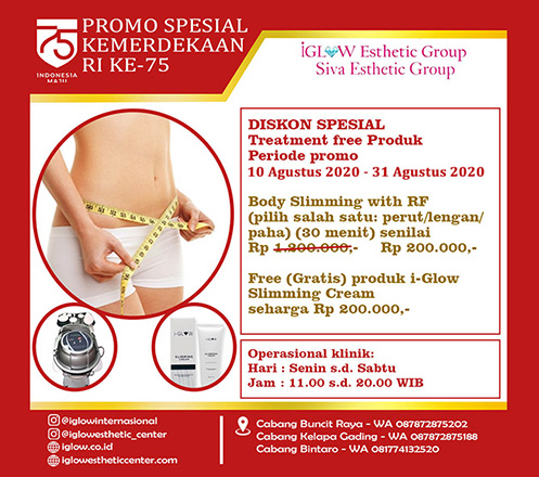 iGLOW Body Slimming with RF by Siva Esthetic