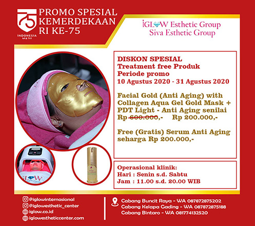 iGLOW Facial Gold (Anti Aging) by Siva Esthetic 02