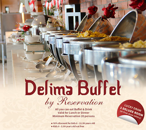 All You Can Eat Buffet & Drink for Lunch or Dinner