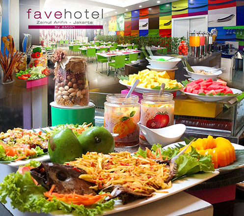All You Can Eat at Lime Restaurant - Favehotel Zainul Arifin