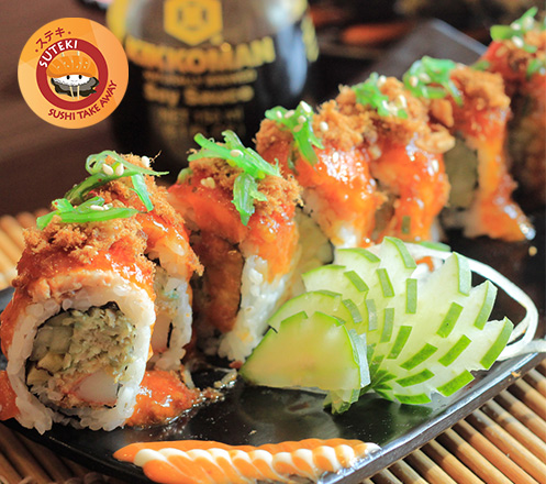 Voucher Value Rp100.000 dari Suteki Sushi