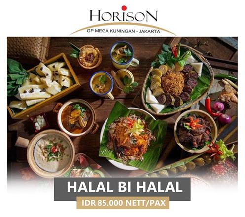 Halalbihalal Buffet at Teratai Restaurant, Horison GP Mega Kuningan 02