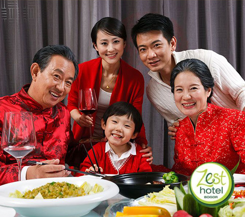 Chinese New Year Dinner at Zest Hotel Bogor