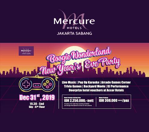 New Years Eve Dinner Package-Mercure Jakarta Sabang
