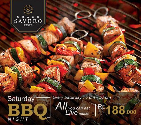 AYCE Saturday BBQ Night at Grand Savero Hotel - Bogor 02
