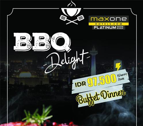 BBQ Delight at Skymax Rooftop - Maxone Platinum Hayam Wuruk 01