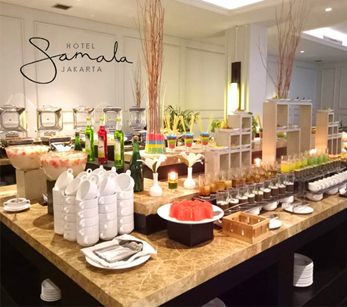 All You Can Eat Breakfast Buffet at Hotel Samala