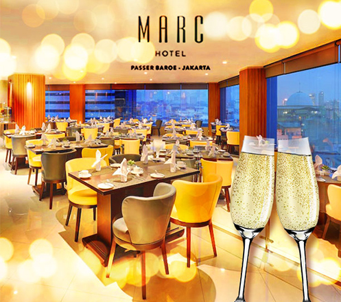 All You Can Eat Christmas Dinner at Marc Hotel - Passer Baroe
