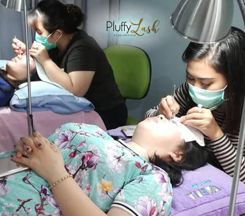 Paket Perawatan Kecantikan dari Pluffylash.id