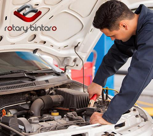Service AC Mobil dari Rotary Bintaro Cab. Puri