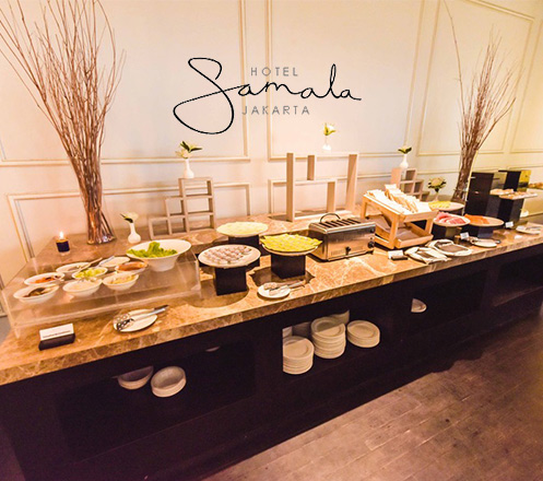 Gala Dinner New Year Buffet All You Can Eat at Samala Hotel