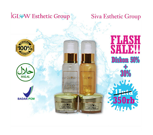 FLASH SALE ! IGLOW Premium Series Package