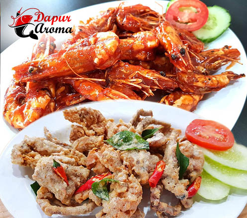 Paket Hemat Makan Seafood Ber-2 di Dapur Aroma Seafood