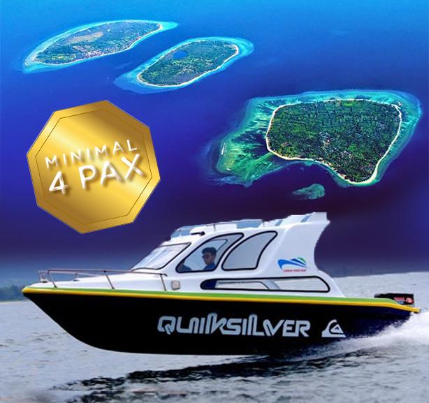 Private Speed Boat plus Car Rental Min. Buy 4 pax
